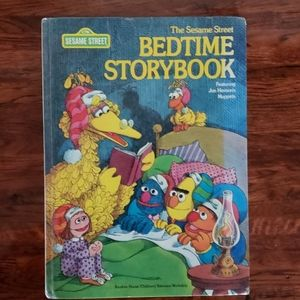 Sesame Street Story Book Childrens Muppets 1978